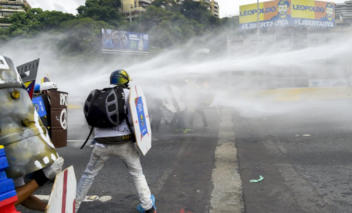 Venezuela's socialist government unleashes 'The Whale' against protesters