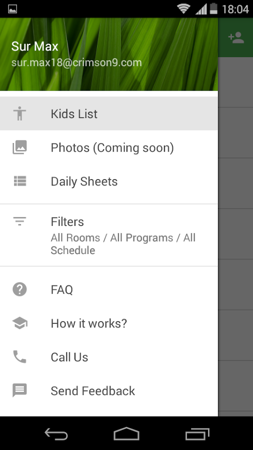 Daily Sheets for Childcare- screenshot