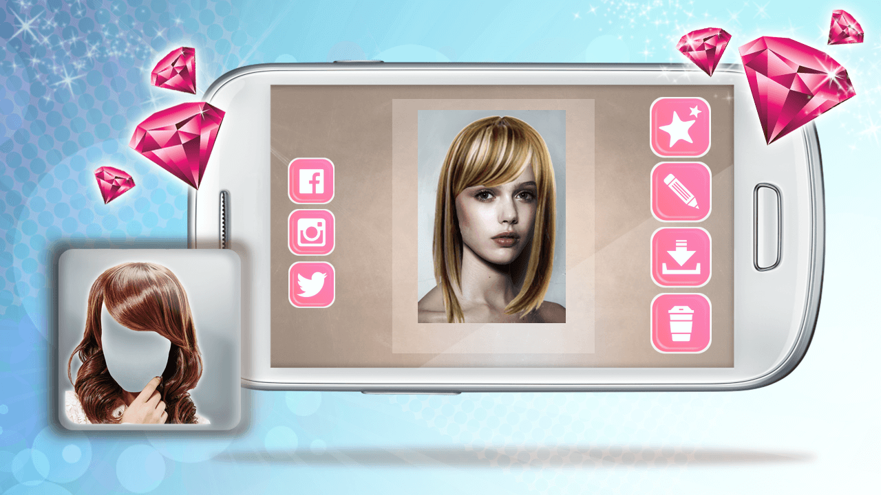 Coiffure Virtuel: Beauté – Applications Android sur Google Play