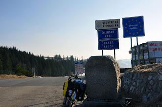 Photo: Na Słowację wjeżdżam przez przełęcz Myto