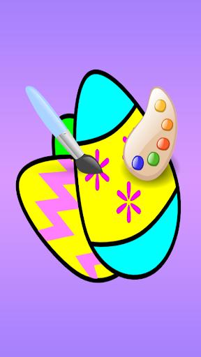 Coloring Fun : Easter Eggs