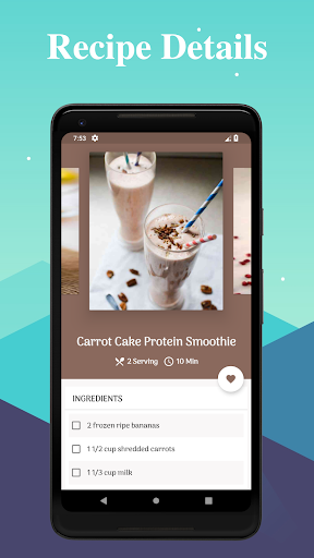 Screenshot for 500+ Healthy Smoothie Recipes in United States Play Store