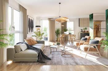 Appartement 2 pièces 52,83 m2