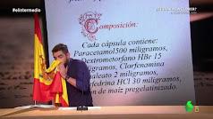 Gag de Dani Mateo en el programa de El Intermedio de La Sexta.