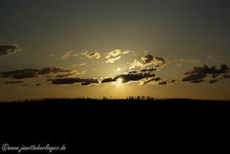 Photo: Sunset Yellowstone NP