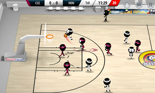 Stickman Basketball 2017 App Latest Version Download For Android and iPhone 1