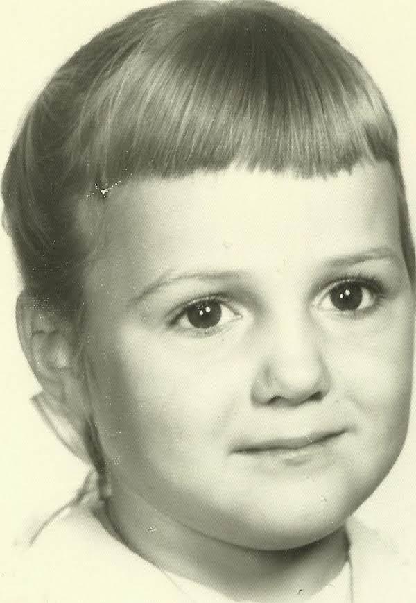 Sharon K. In Her Kindergarten Photo