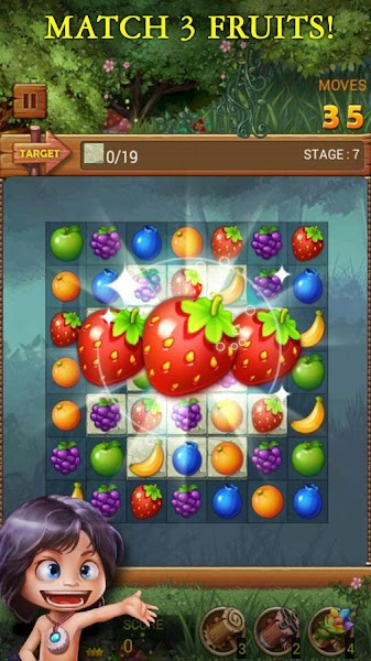 Fruits Forest : Rainbow Apple v1.1.8 [Mod]