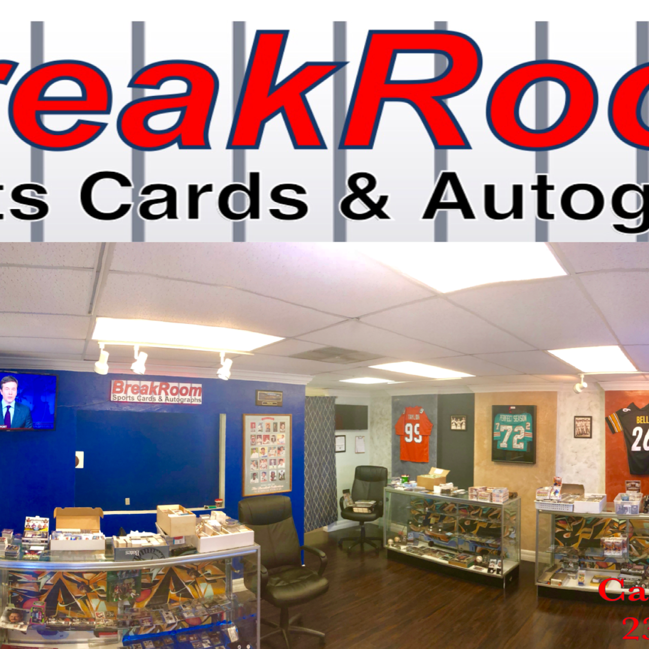 Breakroom Sports Cards And Memorabilia Sports Card Store In Cape Coral