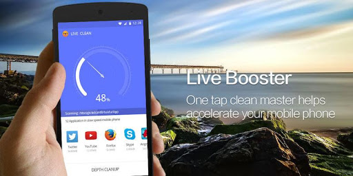 Live Booster Cleaner-Speed up