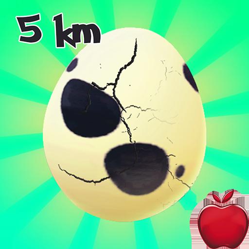 Egg Hatching Poke Gen 2 :  5 Km