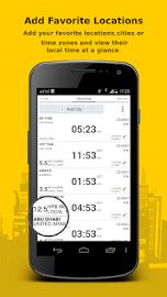 Bob's World Clock Widget Screenshot 2