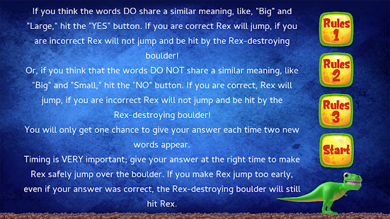 Thesaurus Rex Screenshot