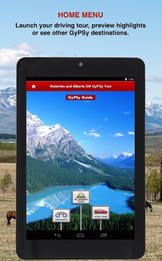 Waterton Alberta SW GyPSy- screenshot
