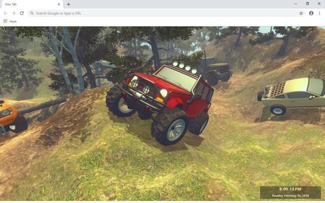 Extreme Car Driving Simulator Custom New Tab