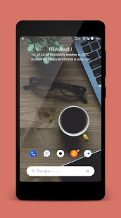 MateriAsh for KWGT/KLWP - náhled