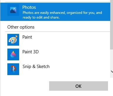 photos with Windows Photo Viewer