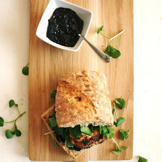 Cajun Chicken and Smoked Chilli Jam Sandwich