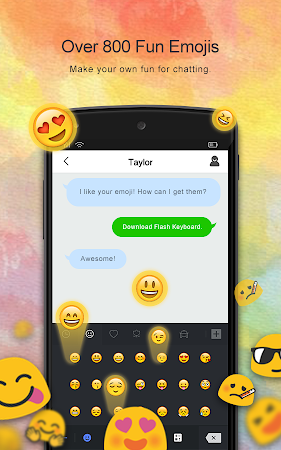Flash Keyboard - Emojis & More 1.0.10100.1205 screenshot 625784