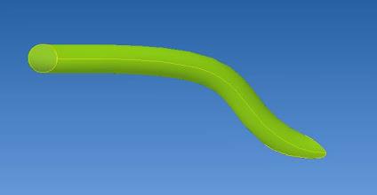 Photo: recourber dans le profile et profiler les extrémités comme le doigt mobile pour faciliter la prise au ras du support