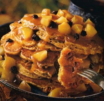 3 Grain Pancakes Recipe