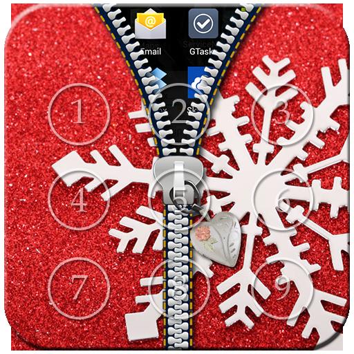 Snowflake Zipper Lock
