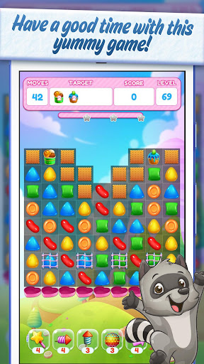 Sweet Candy Yummy ud83cudf6e Color Match Crush Puzzle 1.1.0 androidappsheaven.com 2