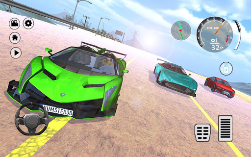 Drift Simulator: Veneno Roadster 1.0 screenshots 7