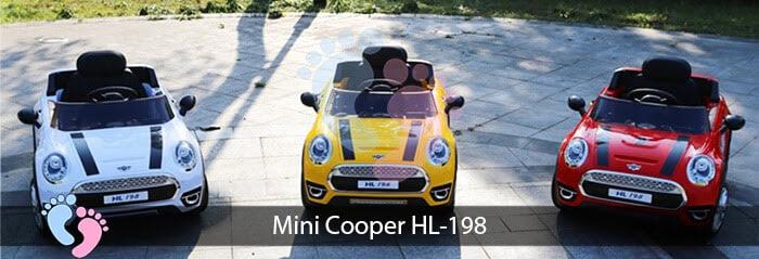 Xe oto điện trẻ em Mini Cooper HL-198 2