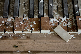 Photo: Tickled ivories at Westborough State Hospital.