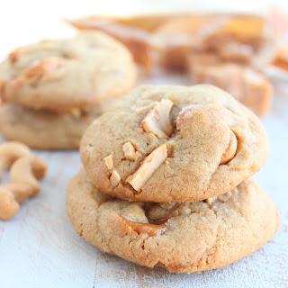Salted Caramel Cashew Cookies