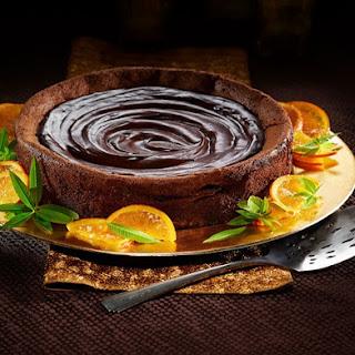 Nutty Chocolate Orange Flourless Cake Recipe