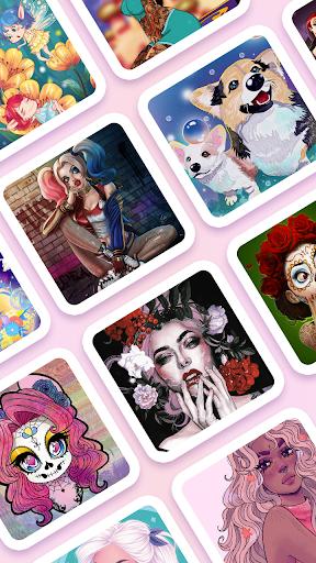 Coloring Games: Adult Coloring Book & Picsart 1.0.10 screenshots 8
