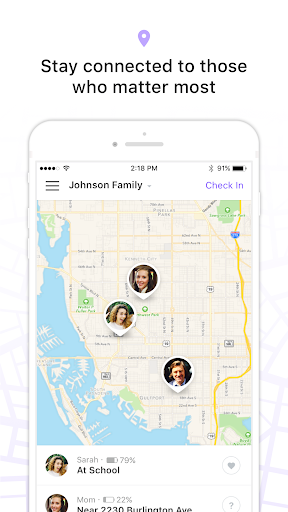 Family Locator - GPS Tracker app (apk) free download for Android/PC/Windows screenshot