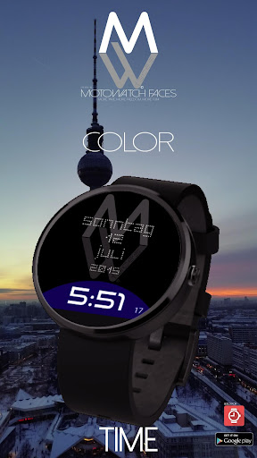 MW® Moto Watch Faces - Time