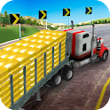 US Gold Transporter Truck icon