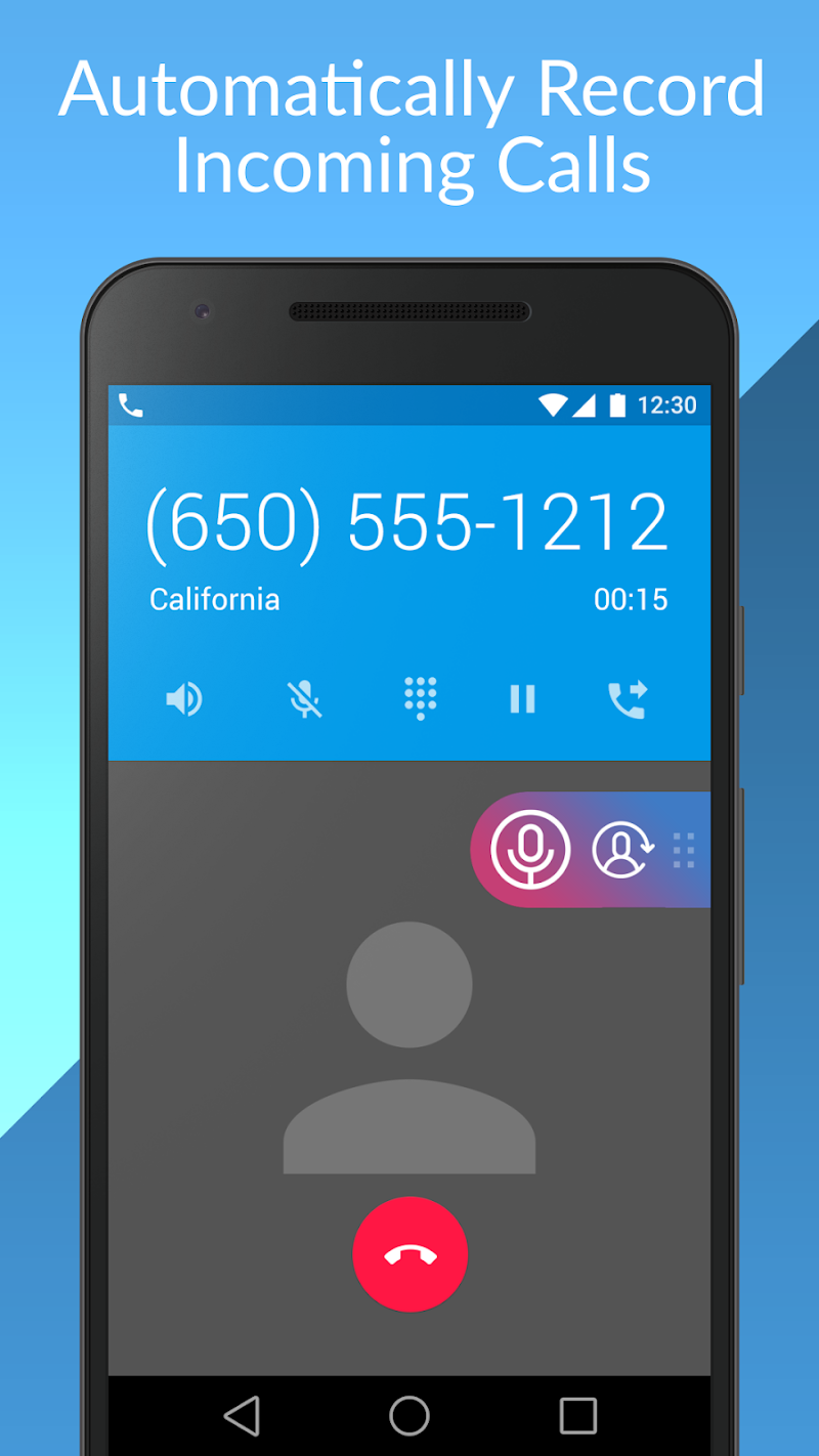 Cube Call Recorder ACR Screenshot 2