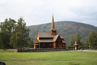Photo: Старая церковь, полностью покрытая дегтем. И пахнет там именно так, как должно!