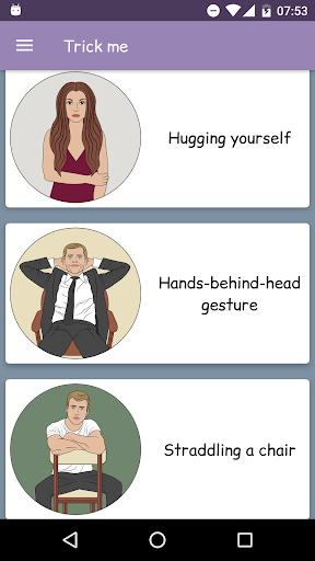 Body language - Trick me. Analyzing of Gestures 9.0 screenshots 3