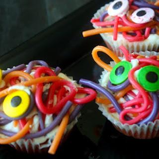Spaghetti Monster Cupcakes {Vegan & Gluten-Free}.