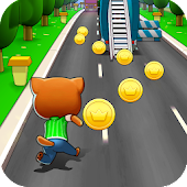 Talking Cat Run Android APK Download Free By PK.Studio