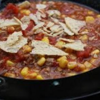 Crock Pot Southwest Beef Chili Stew