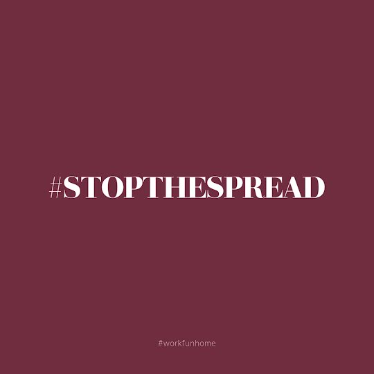 Stop the Spread - Instagram Post Template