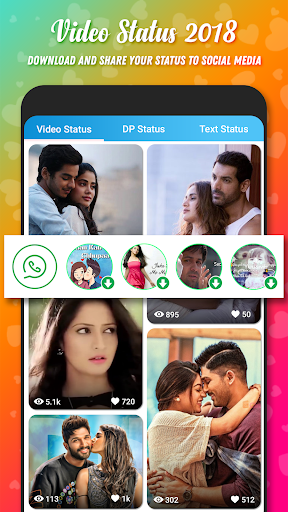 Video Status for Whatsapp & FB 2.2 screenshots 1