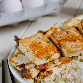 Egg-Battered Tofu.