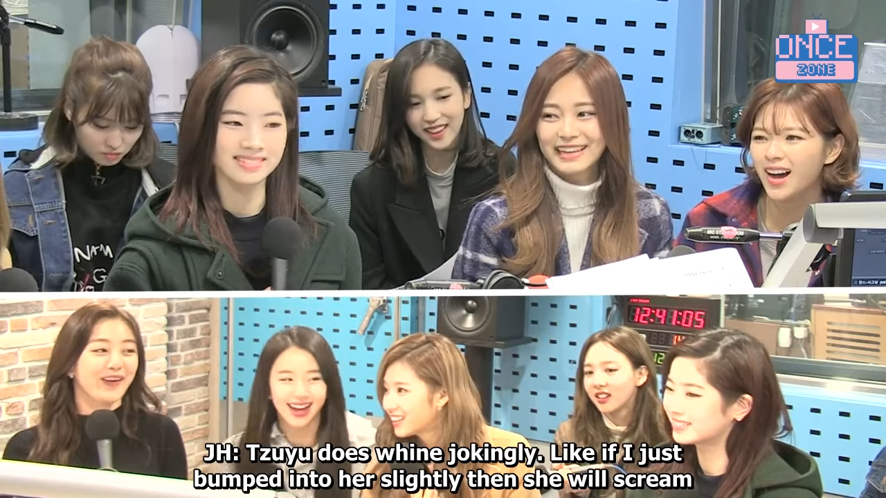 FULL ENG SUB 171110 SBS Power FM 'Choi hwajung's Powertime' with TWICE 34-47 screenshot