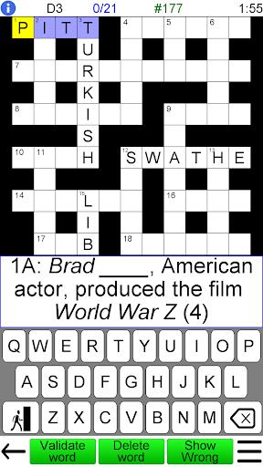 Crossword Unlimited screenshots 1