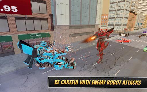 Pacific Robo Police Car Transformation Robot Rim 1.3 screenshots 4