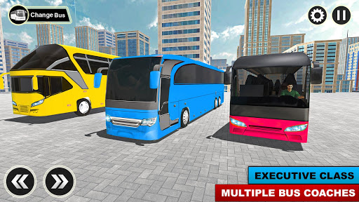 City Passenger Coach Bus Simulator: Bus Driving 3D apkpoly screenshots 5