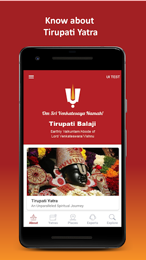 Tirupati Balaji Yatra by Travelkosh screenshots 1